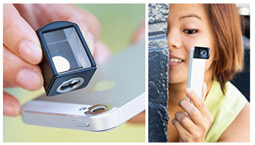 SPY Lens - Spy Gear for your Smart Phone - Fun for all ages - Techy Gadget Perfect for Camera & Photography #GiftIdea