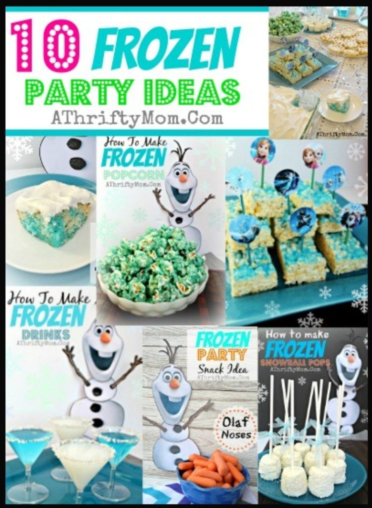 10 frozen party ideas