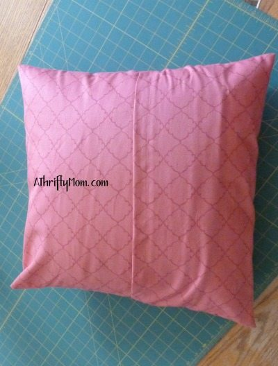 diy removable pillow covers, throw pillows thrifty decorating, diy, tutorial,  pillows, pillow cover tutorial