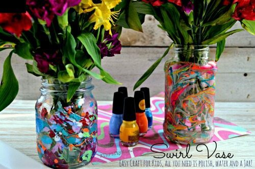 Nail Polish Vase Videos To Bend Light