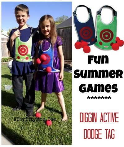 SUMMER games for kids and teens  fun,Diggin Active Dodge Tag, perfect for family reunions, parties and summer fun #Teens, #Parties, #summer, #Outdoor