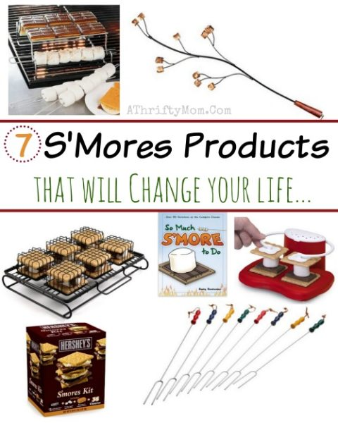 smores products that you never knew you needed, if you love smores these are LIFE CHANGING, make the campfire recipe or camping menu so much easier