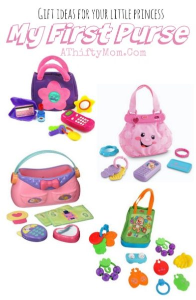 1st birthday gift ideas, baby girl toys and gift ideas, girls first purse with free shipping options