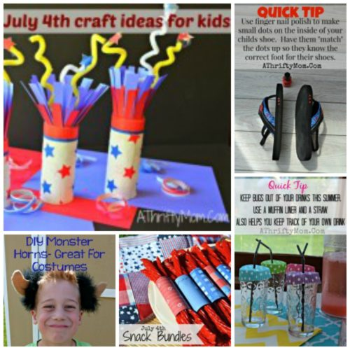 July 4th, hacks for kids, party ideas