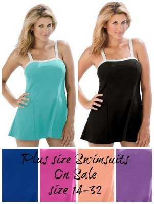 plus size swimsuits on sale