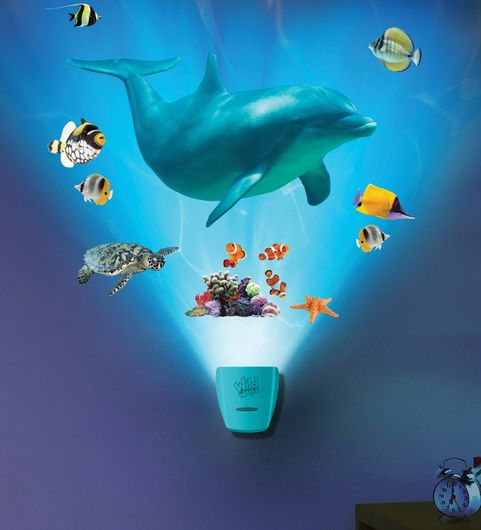 dolphin light and sound room display, kids rooms, gift idea