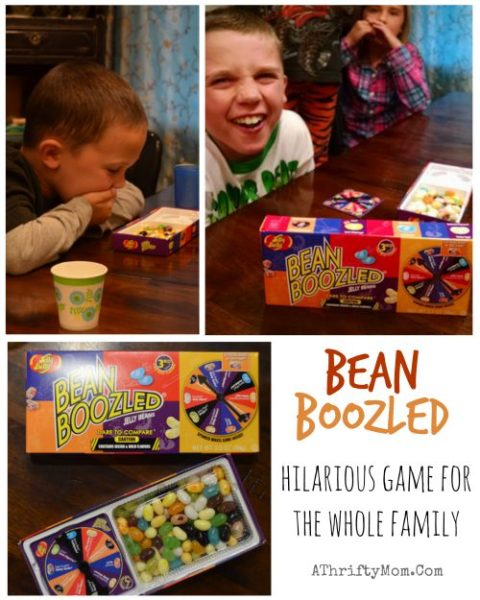 Bean Boozled Jelly Belly dare to compare game, hillarious game for the whole family, you will be laughing and gagging at the same time