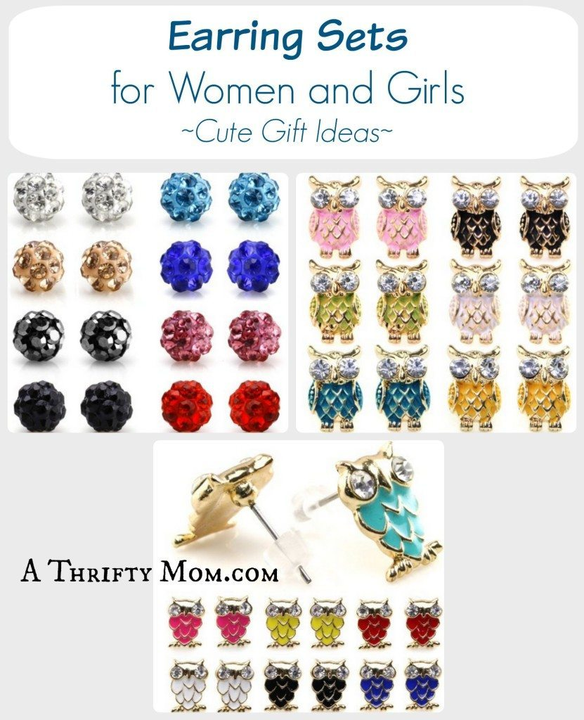 Earring Sets for Women and Girls - Cute Gift Ideas