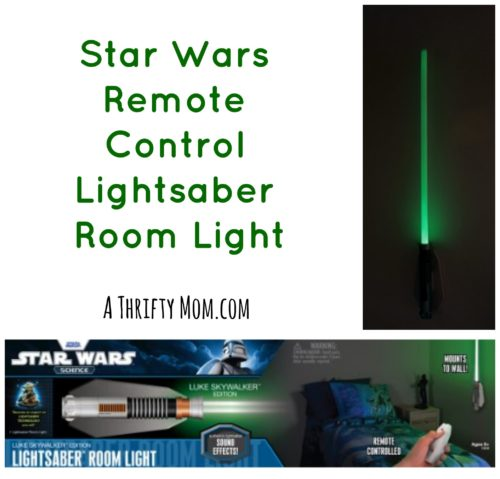 Star Wars Remote Control Lightsaber Room Light On Sale