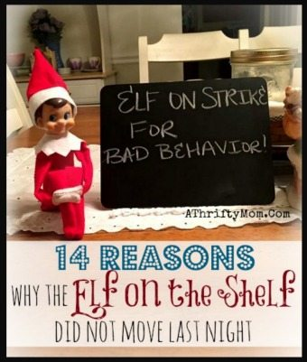 Why the elf on the shelf did not move, Elf on the shelf ideas
