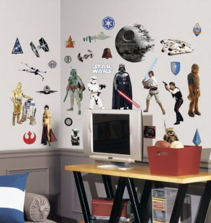 Star Wars Vinyl Wall Decal set
