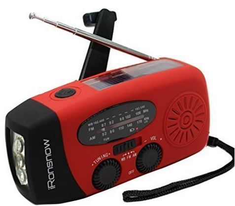 dynamo emergency radio phone charger solar charger