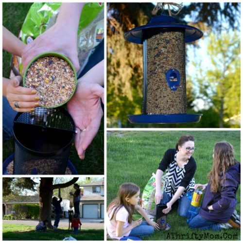 Bird feeders at ACE Hardware, where to buy birdfeeders, how to make bird feeders with your family, family activities to do outside, ad