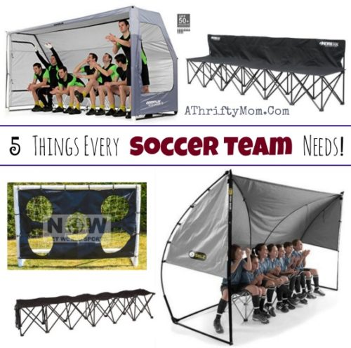 Clear Wall Shelter for Soccer Moms and soccer teams, 5 things every soccer team needs, soccer shelter, portable shelters and team benches