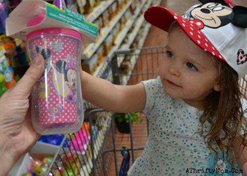 Mommy and Daughter moments with Minnie Mouse at Walmart, Today was a good day, Having fun and enjoying motherhood in the moment, #ad #izea