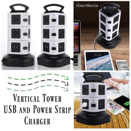 vertical-tower-usb-and-power-strip-charger-review-and-coupon-code