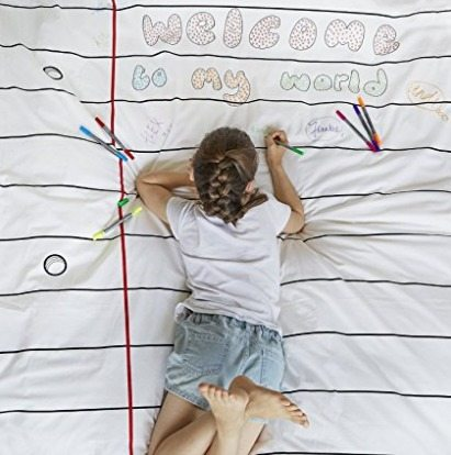 Color your own duvet