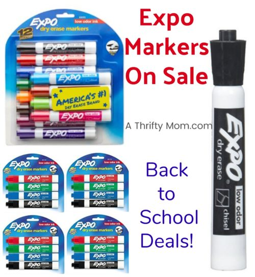 Expo Marker Deals - Back to School