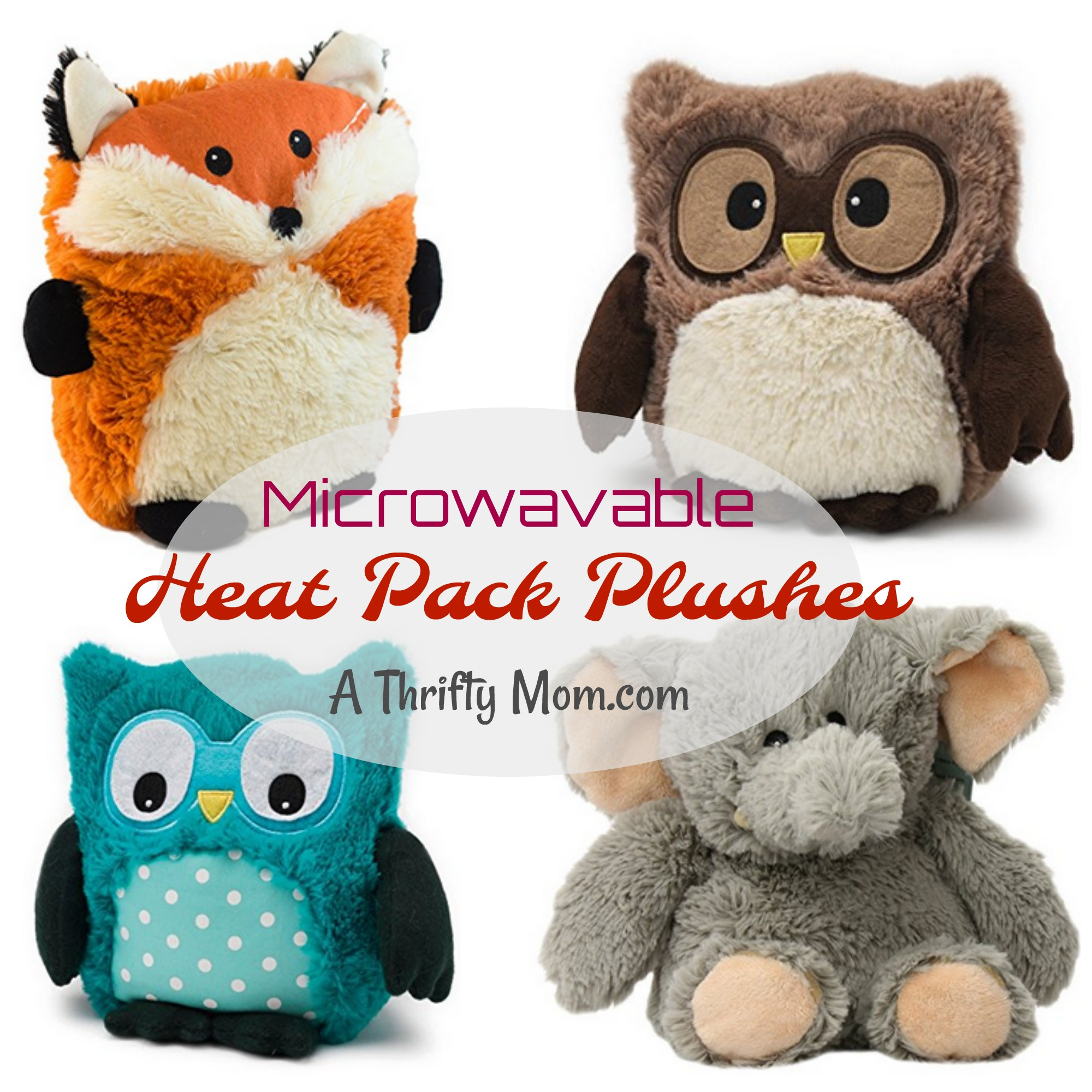 Heat Pack Plushes