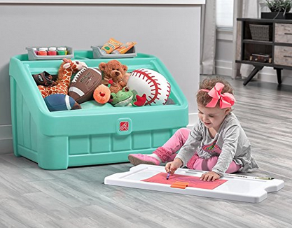 2-in-1 Toy Box