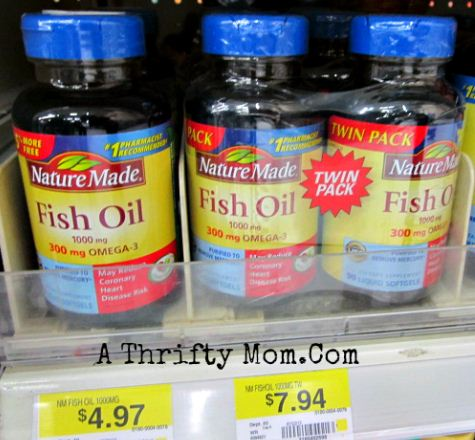 Nature made fish oil and vitamin d low as after for Liquid fish oil walmart
