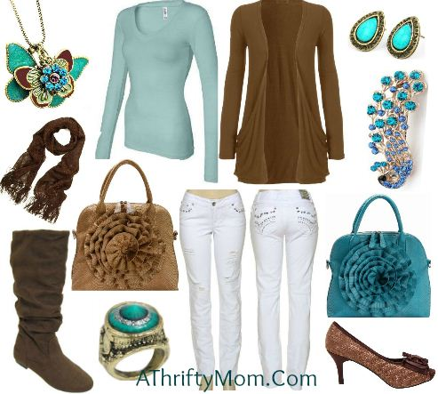 Fashion Style Board Round Up ~ Style For Less - A Thrifty Mom - Recipes Crafts DIY And More