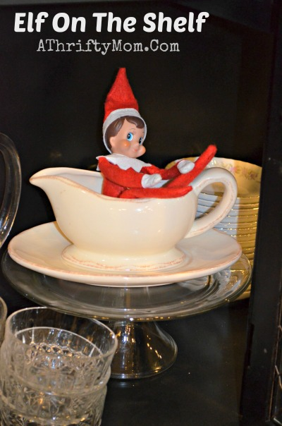 ELF ON THE SHELF IDEAS ~ EASY IDEAS FOR ELF ON THE SHELF ...