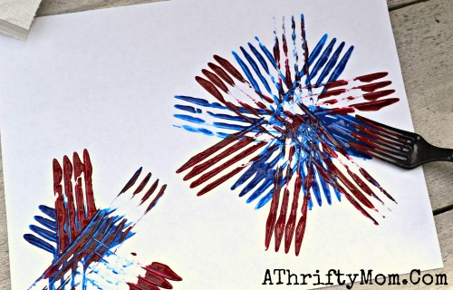 for kids 4th of july art projects july4th fireworks kidcrafts