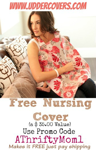 Coupon for free nursing cover