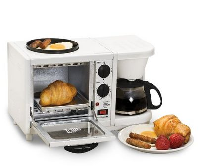 3 in 1 breakfast station perfect for a dorm or small space - Microwave for small spaces image ...