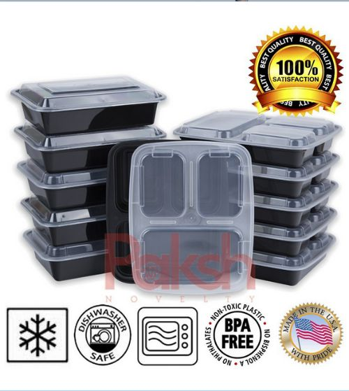 set of 10 bento boxes perfect for meal prep and portion control. Black Bedroom Furniture Sets. Home Design Ideas