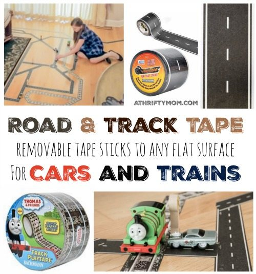 Road and track tape, Make your very own roads or train tracks on any ...