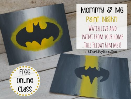 Free Painting Class Flowers And Swirls Mommy Amp Me Paint