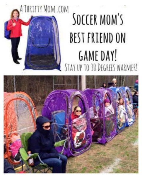 Soccer Mom S Best Friend On Game Day Clear Wall Shelter To